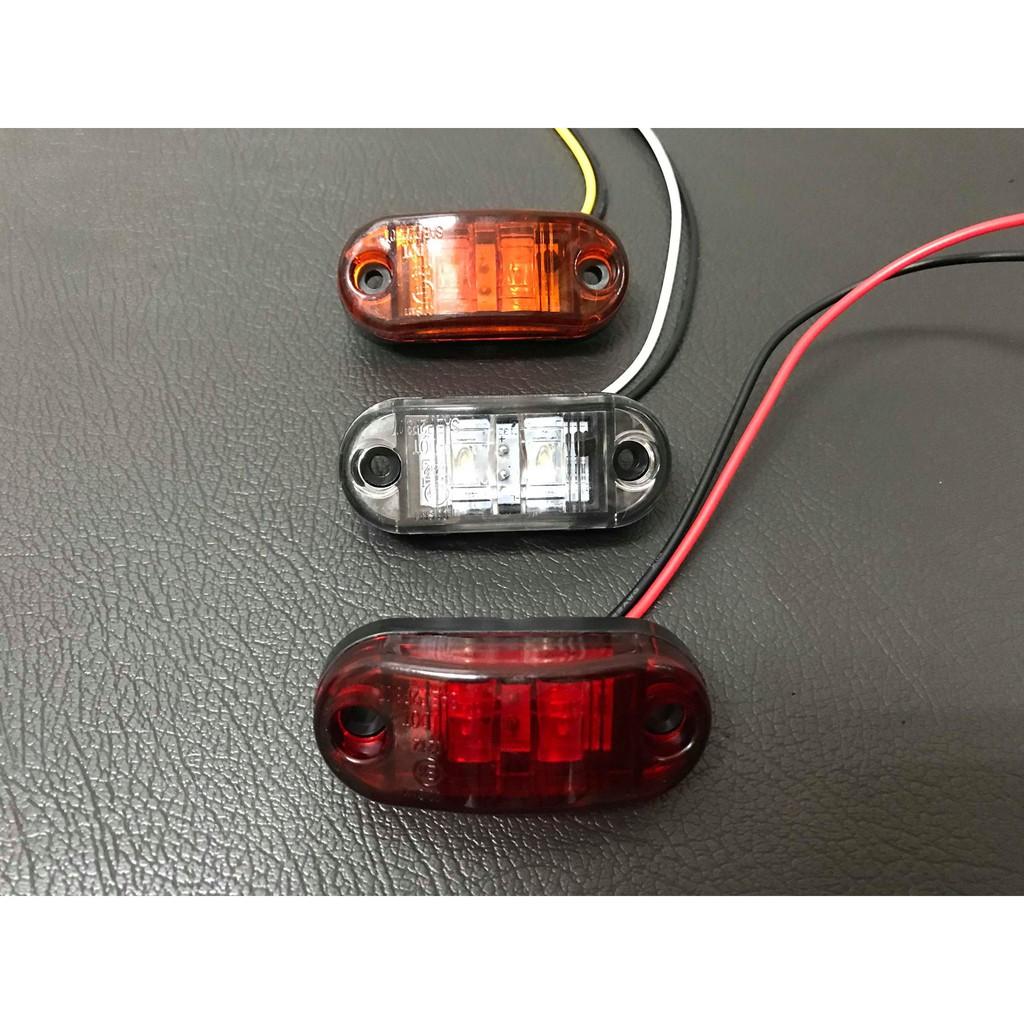 Ko Ma 10-30V 2粒LED 邊燈 大燈 後燈 角燈 方向燈 屋頂燈 標識燈 遊覽車 巴士 公車 貨車  吊車