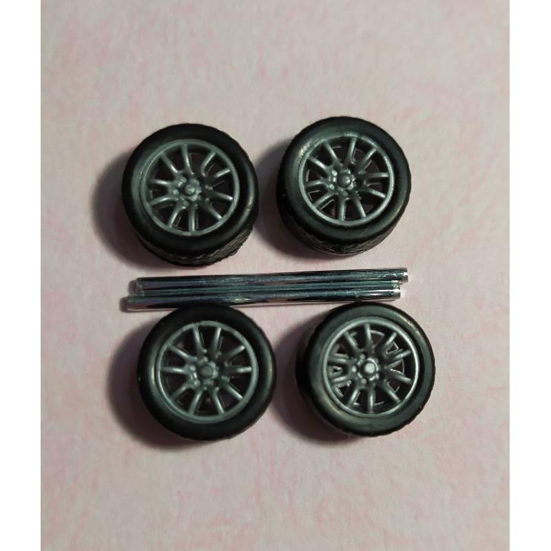 全新,100%現貨~ 1/64 改裝輪胎 - 款式6