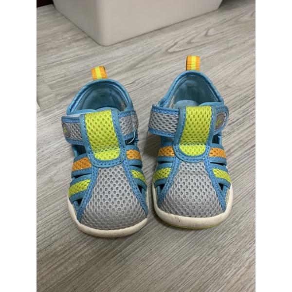 Moonstar護趾機能性涼鞋13CM