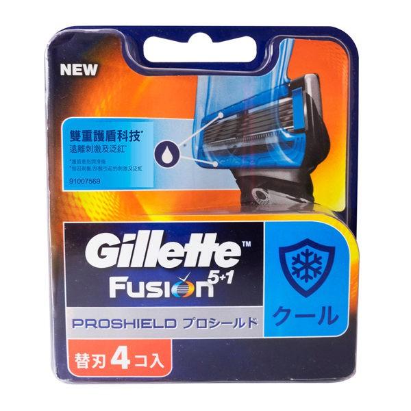 吉列 鋒護 冰爽 系列 刮鬍刀 刀片( 4刀片)