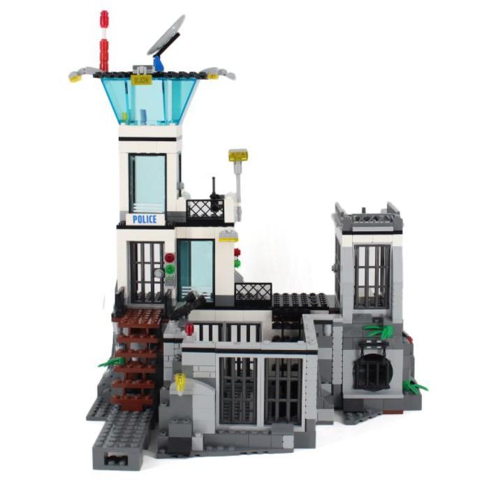 LEGO 樂高 60130 CITY監獄島 缺件 附說明書 769900002798 再生工場YR2007 04