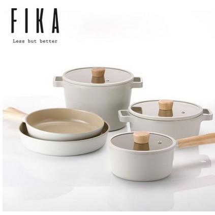 [Neoflam] Fika 不沾感應平底鍋組 (5件)(3個鍋+ 2個鍋)
