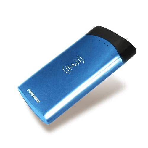 Esense 逸盛 10000mAH QI 無線充電 行動電源 37-APK100BL 藍