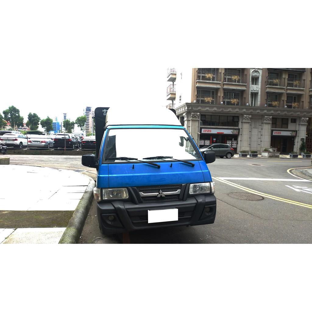 2013 中華 三菱 MITSUBISHI 得利卡 DELICA 2.4 藍色 蓬式 升降尾門 ~ 二手車 中古車