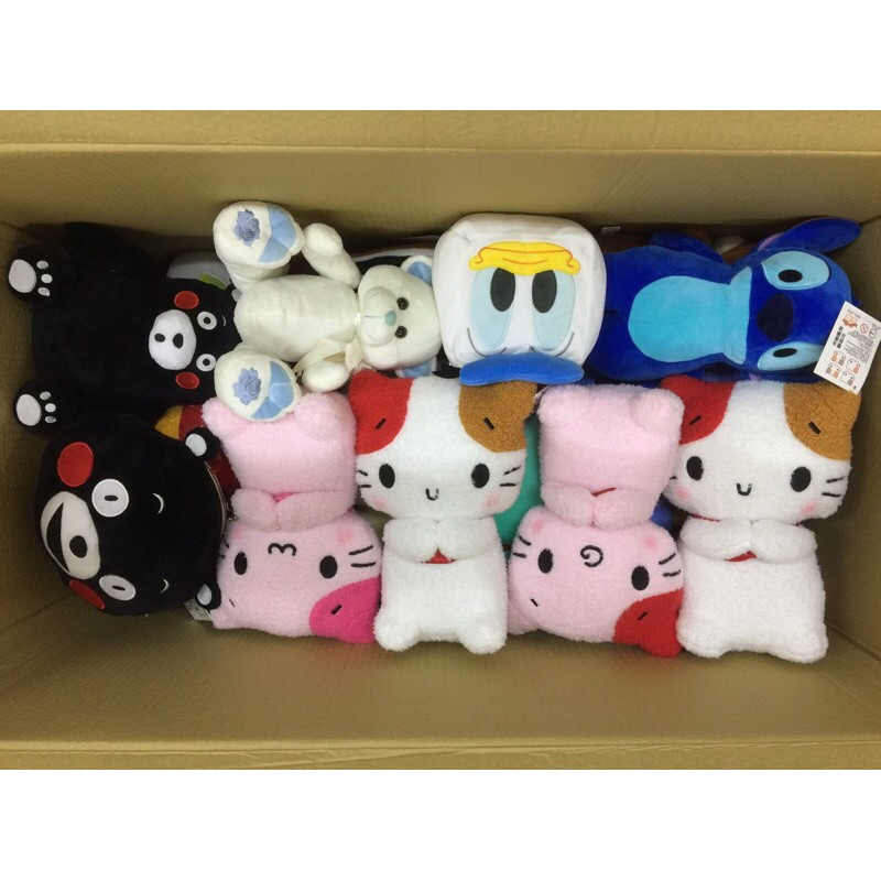 🌟ITA娃娃機商品共9件🌟可愛絨毛娃娃約10-16吋現貨低價批發