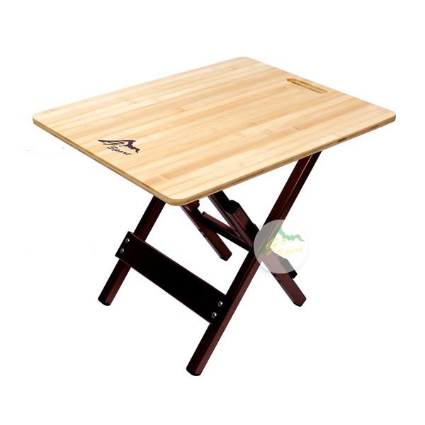 98002 慶城GO SPORT 竹板邊桌 露營桌 折疊桌 休閒桌