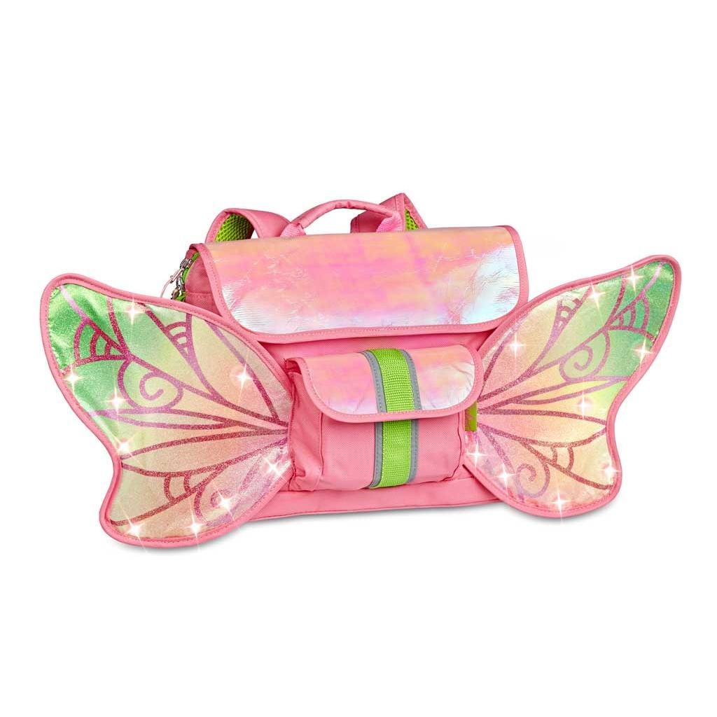 美國Bixbee ─ 飛飛童趣LED系列-亮閃蝴蝶仙子小童背包