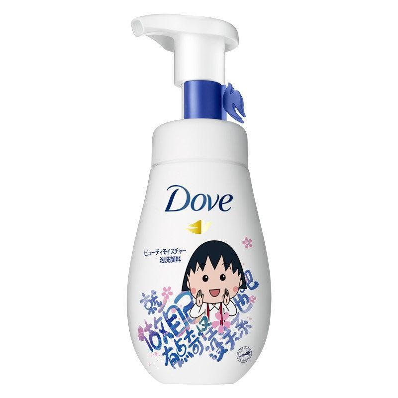台灣現貨Dove/多芬潤澤水嫩潔面慕絲泡泡160ml氨基酸綿密慕斯洗面奶潔面乳ting