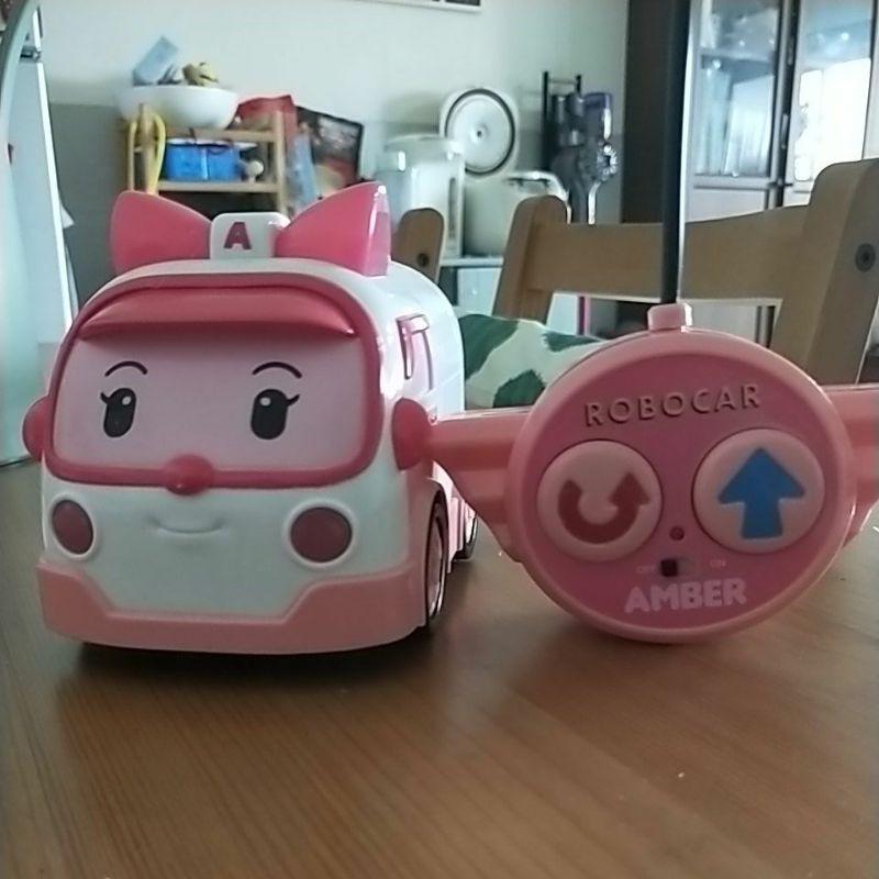 韓國正版玩具 Amber 安寶 救援 救護車 遙控 小車 遙控車 玩具 二手