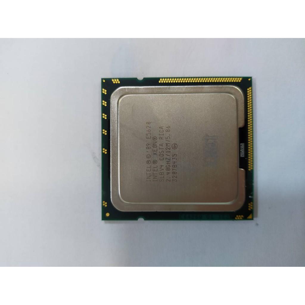 Intel Xeon E5620 SLBV4 CPU (二手良品)