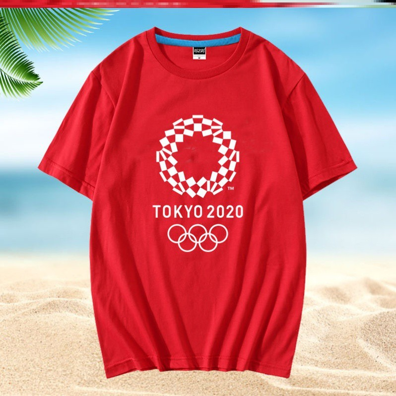 台灣 2020 東京奧運會 紀念品 現貨 精品 限量 正品 2020東京奧運會T恤周邊紀念品2021短袖衣服纪念衫服装同