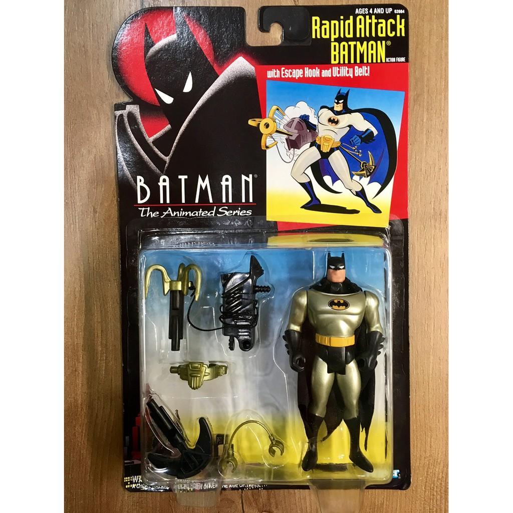 Kenner 1994 蝙蝠俠 動畫系列 Rapid Attack Batman 5吋 吊卡 稀有出清