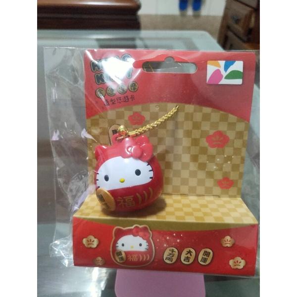 Hello Kitty 金運達摩造型悠遊卡   免運