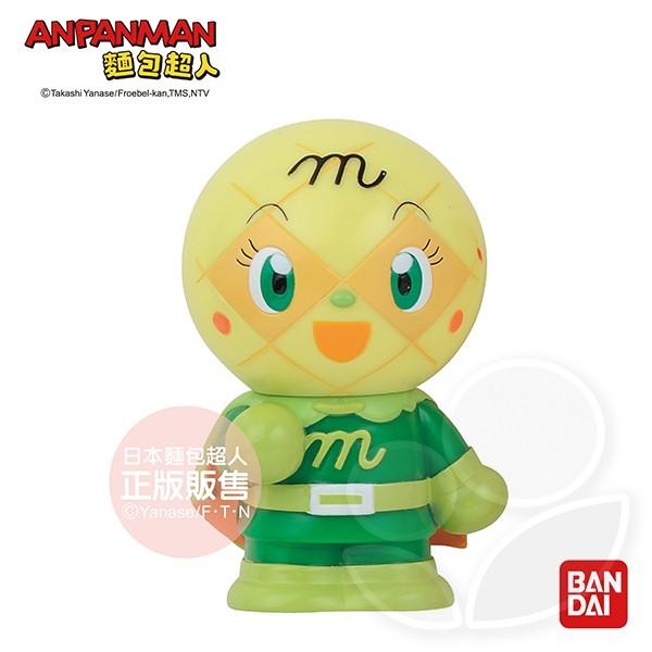 AN麵包超人-嗶啵發聲玩具-蜜瓜超人【佳兒園婦幼館】