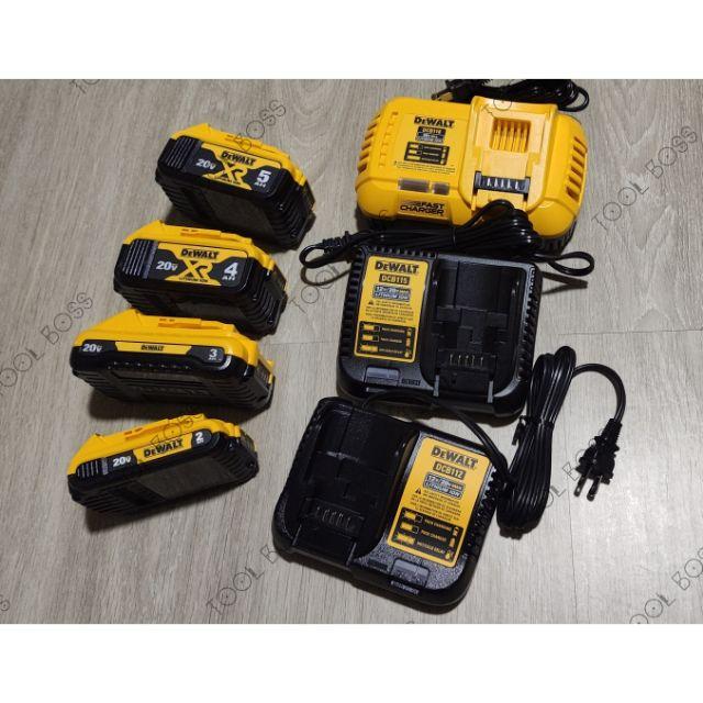 [工具王] 全新  Dewalt 得偉  20V 充電器 電池 DCB230 DCB203 DCB112 DCB115