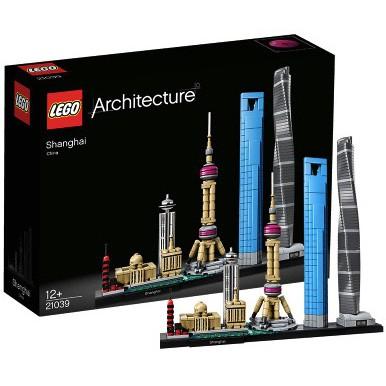 樂高 LEGO 建筑系列 21039上海21047拉斯維加斯 21034倫敦 天際線