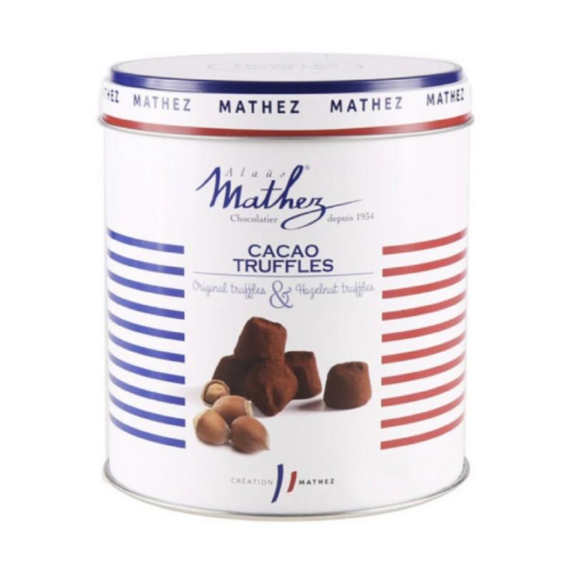 法國【MATHEZ】香濃榛果松露巧克力