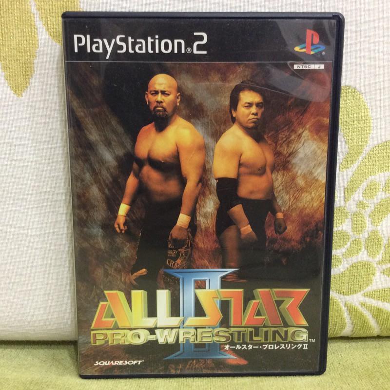 PS2 日版 全明星職業摔角 2 All Star Pro Wrestling