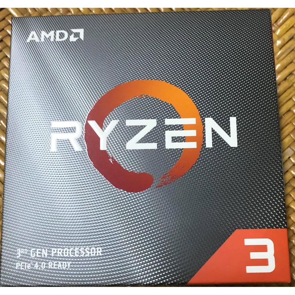 【現貨】AMD R3 3100/R3 3300X/R5 3400G/R5 3500X/R5 3600 代理貨 完整盒裝
