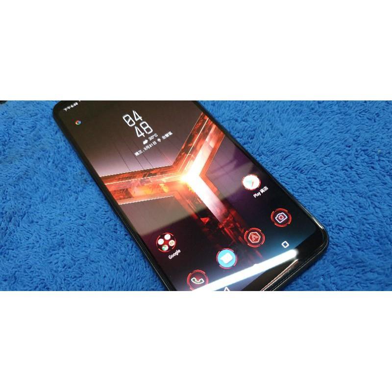 這是 台灣旗艦版 不是大陸閹割版的 ASUS ROG II 電競手機 Phone II ZS660KL ROG2 二手