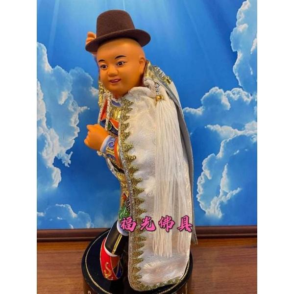 【福光佛具】🔥超商免運   1尺3純白色    手工太子披風   神明披風  三太子 元帥 太子爺 神明衣 神明用品