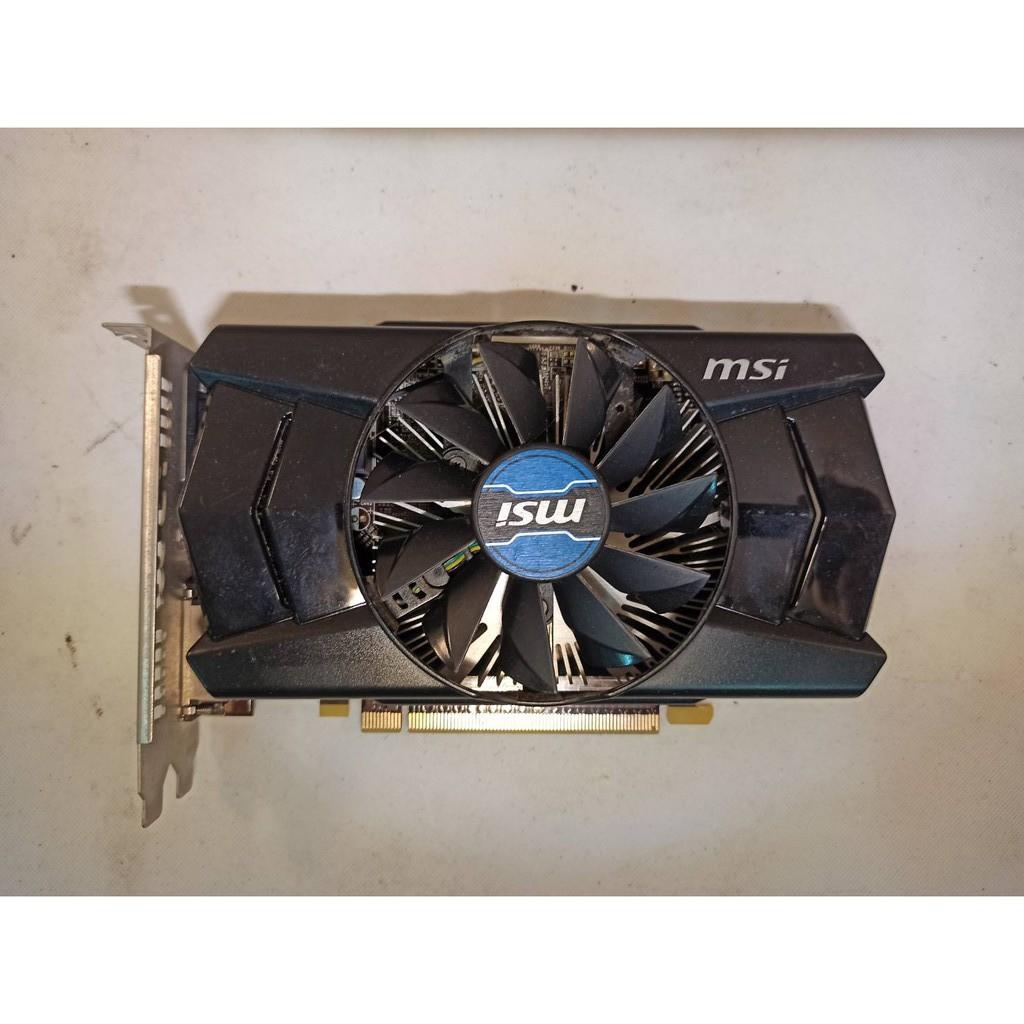 72@MSI微星 R7 250 2GD3 OC 2G DDR3 PCI-E顯示卡<二手良品>