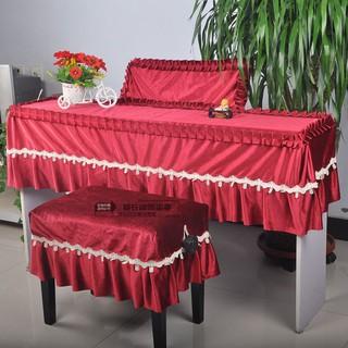 【夏威夷】電鋼琴罩88鍵意大利絨布卡西歐PX-160雅馬哈P115系列防塵套布凳套