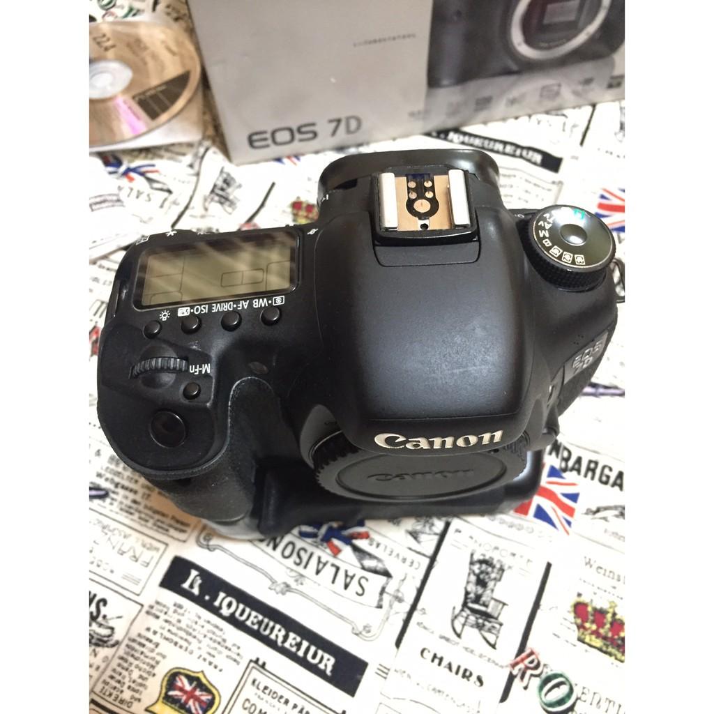 (二手) Canon EOS 7D + Canon 17-40 mm L F4 USM鏡頭