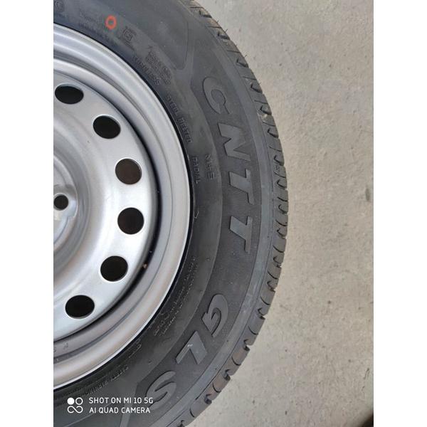 ۩♛#輪轂   原裝雪佛蘭賽歐13寸輪轂鋼圈鐵輪轂專用輪胎備胎總成175/70R13