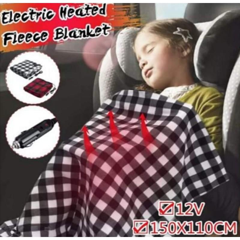 [曼曼精品]車家2用電熱毯/12v 車用電毯 車床 露營必備(定溫型)