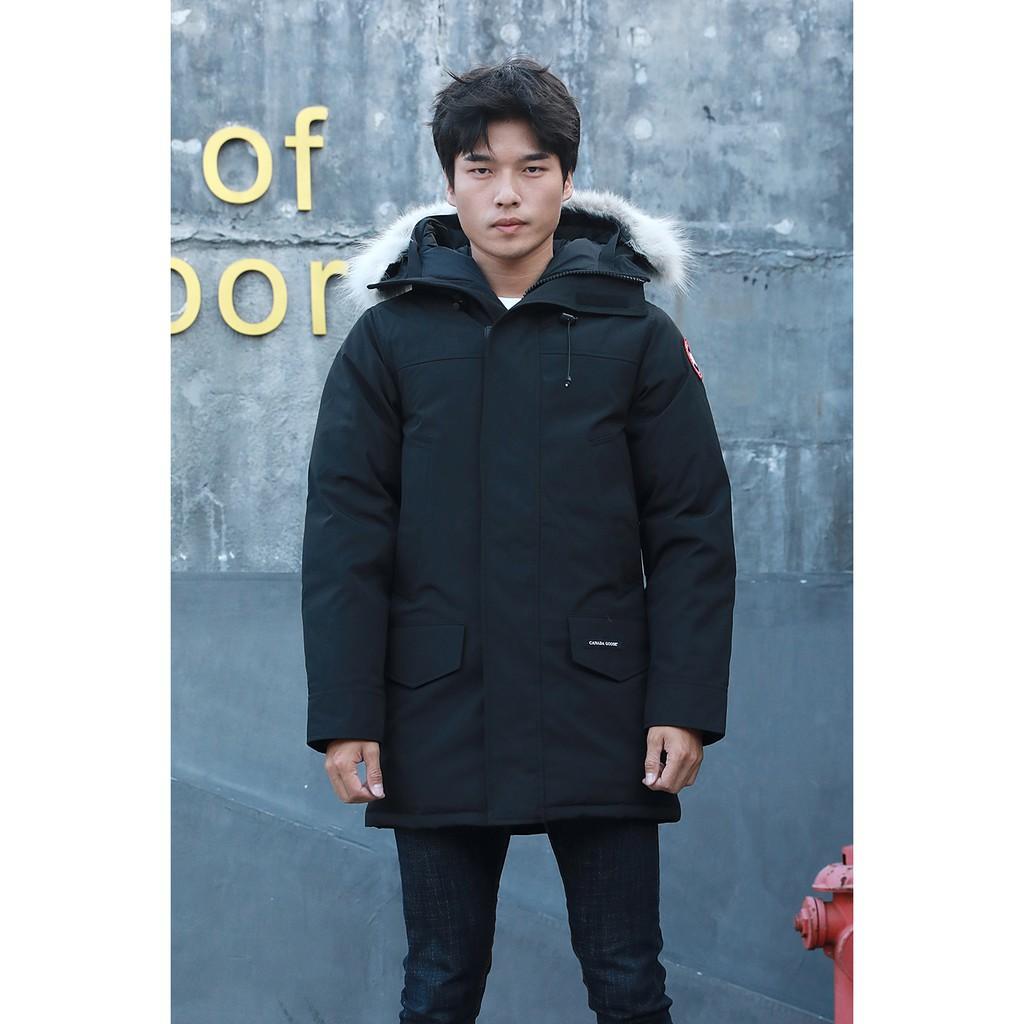 999CANADA GOOSE 加拿大鵝 男款修身中長版 保暖外套 加厚外套 羽絨外套 抗寒﹣11511151