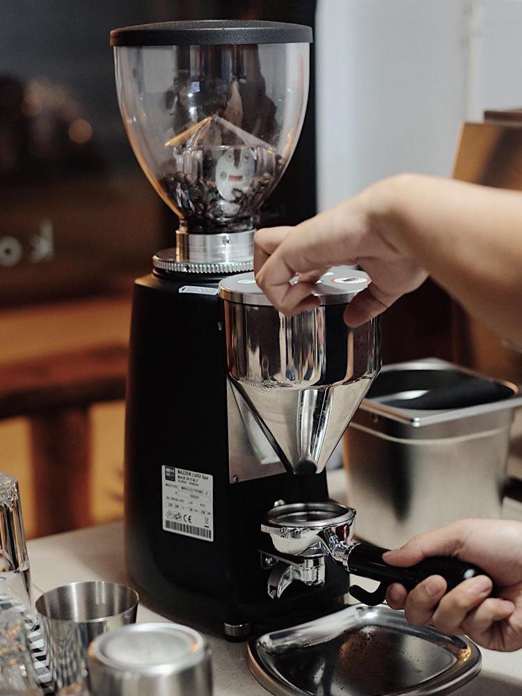 意大利mazzer意式咖啡磨豆機電控定量mini e直出super jolly商用