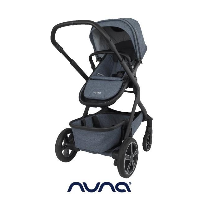 荷蘭nuna-Demi grow手推車(灰藍色) 送推車杯架  二手