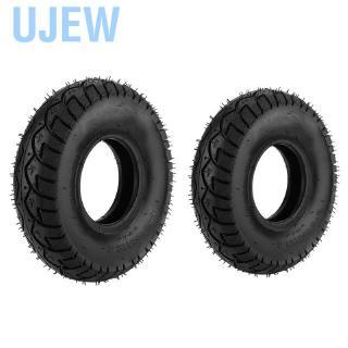 Ujew橡膠外胎車輪充氣工具車手推車的良好彈性4.10 /  3.50-5 12in /  4.10 /  3.50-4 10