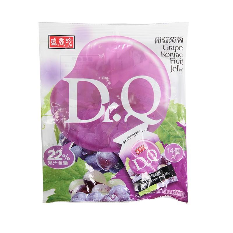 盛香珍Dr.Q葡萄蒟蒻265g(果凍)