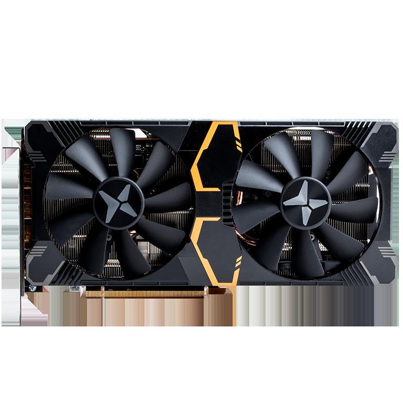 全館免運~迪蘭RX5500XT 8G X戰將RX5700XT 590顯卡電競遊戲顯卡全新現貨