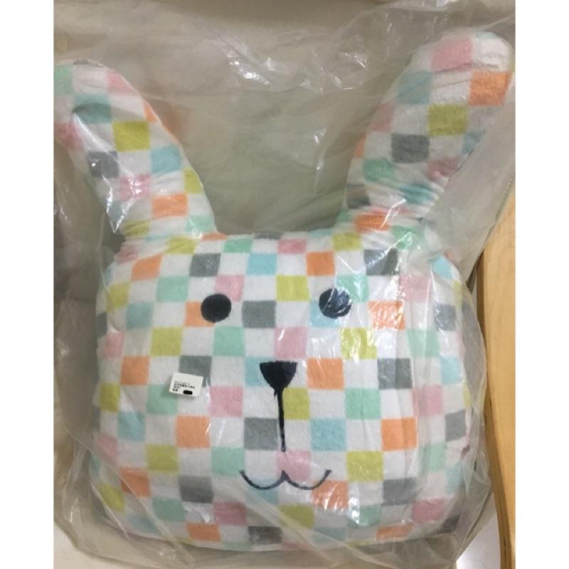 CRAFTHOLIC 宇宙人 精靈兔大靠枕 格子兔 聖誕 交換禮物