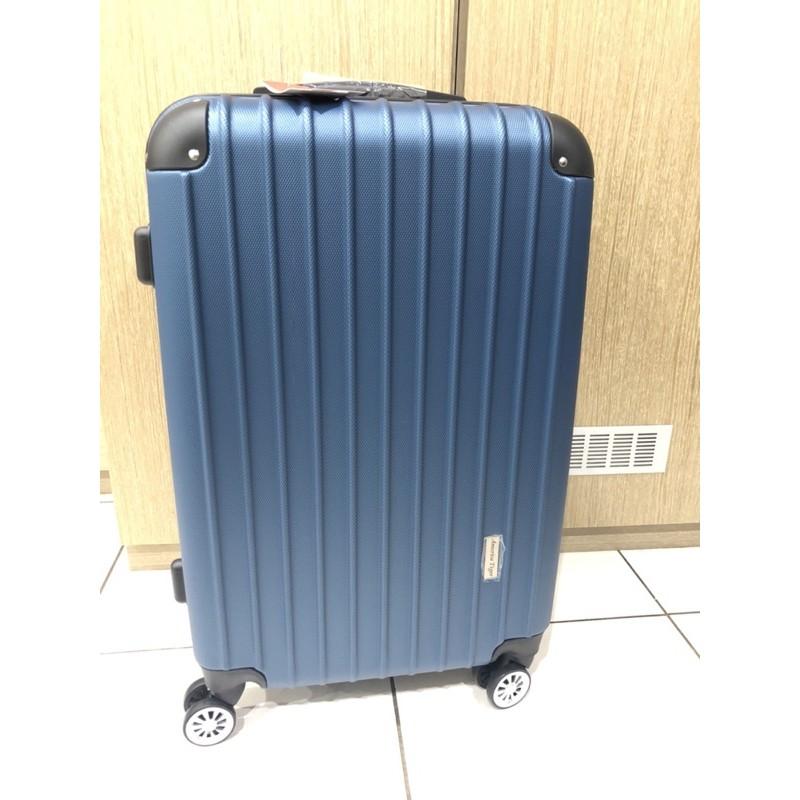 America tiger 24吋藍色行李箱