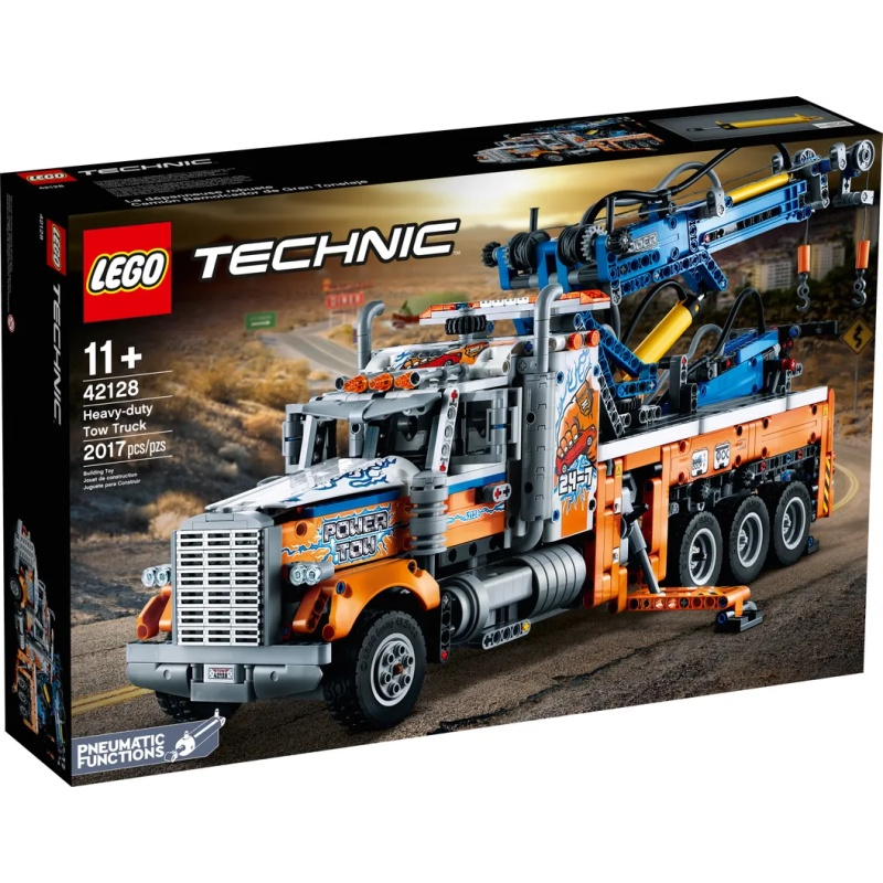 [ 玩樂磚家 ] LEGO 42128 重型拖運卡車 科技系列