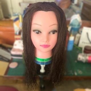 美髮/ 編髮練習用18吋假人頭(可議價) 新竹市