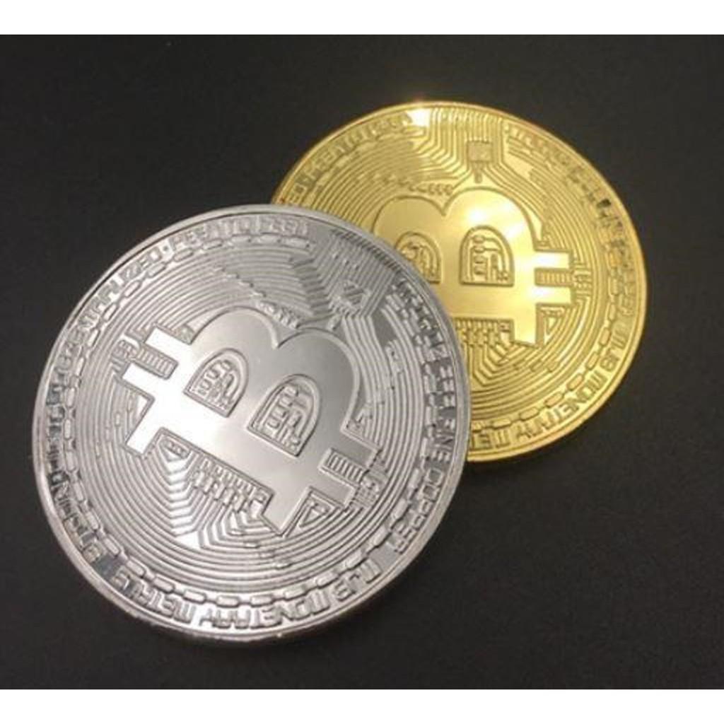 【不囉嗦24H送出】比特幣 以太幣 萊特幣  紀念幣  BTC BITCOIN ETH LTC 金色 銀色 有保護殼
