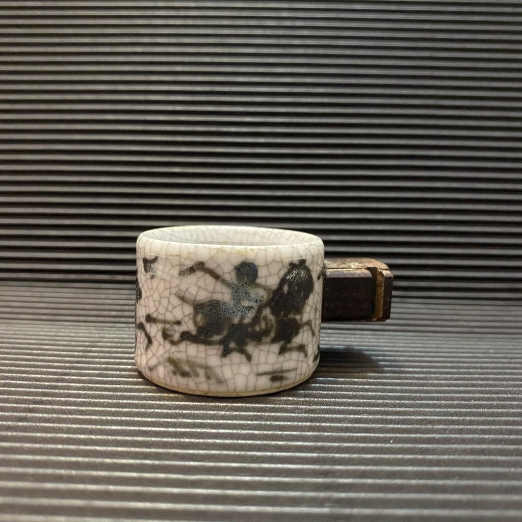 [ 小店 ] 小型鳥 飼料杯 適綠繡眼等 高約:3公分 材質:瓷 E9