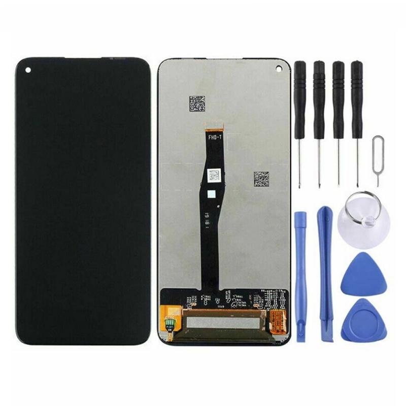 適用於華為 Nova 5T 替換 LCD 顯示屏觸摸屏數字化儀黑色 ☆Brzonesemall