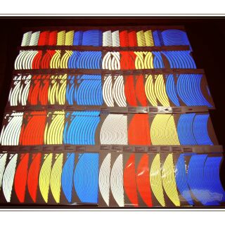3m 反光 輪框 貼紙 10吋 12吋 13吋 14吋 15吋 16吋 17吋 18吋 台南市