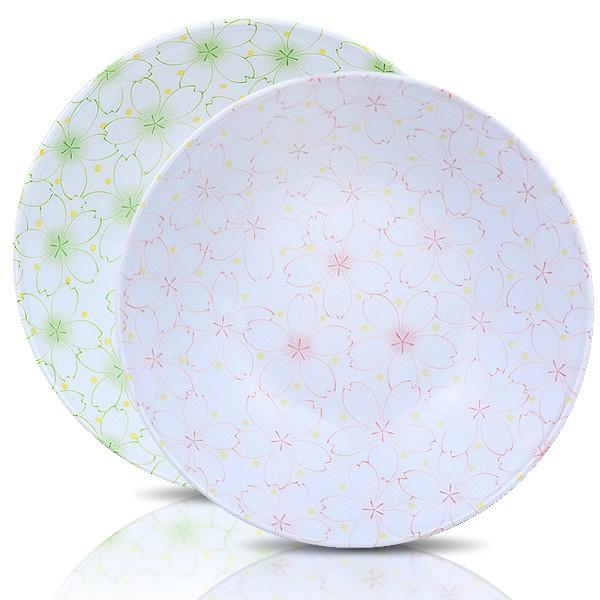 【堯峰陶瓷】日式大東亞櫻花系列8.5吋圓盤 粉櫻/綠櫻 蛋糕盤 料理盤 下午茶適用 野餐擺盤