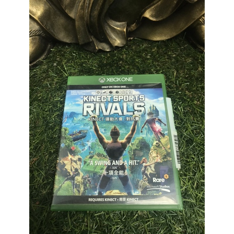 Xbox one 二手遊戲 kinect 體感遊戲 運動大會:對抗賽 RIVALS