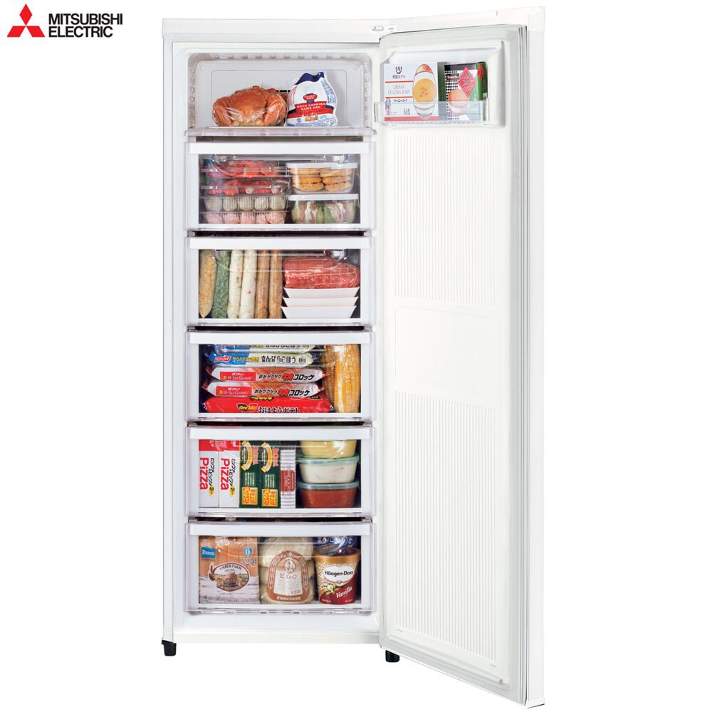 【MITSUBISHI 三菱】144L 泰製直立式冷凍櫃 純淨白 MF-U14P-W-C (預購排單中!)