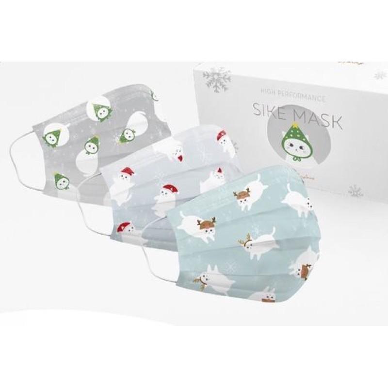 售完不補🐱德泰舒康聖誕喵喵造型口罩🎄