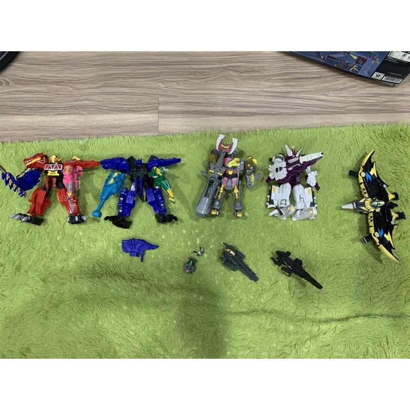 獸電戰隊 強龍者 盒玩 super minipla 全套 已素組