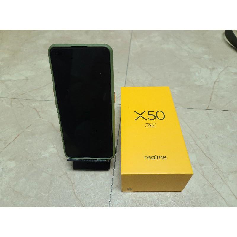 [二手極新]台灣原廠 非陸版 Realme x50 pro 12G+256G 5G手機 綠色 台北市面交